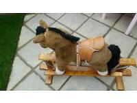 Mamamas and papas childs rocking horse
