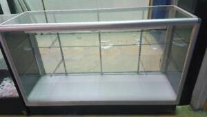 """Store Display Show Case. 38""""H x 60""""W x 10""""D. Glass Top. LED Light. For Jewellry, Phone Case, Shoes, Electronics Shop"""