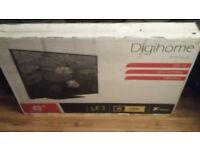 Digihome 49 Full HD 1080p Flat screen TV (Black)