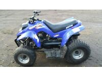 Kids quad in good condition starts and runs £300 open to offers call 07908632959 Dave