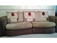 Sofa - 3 piece suite