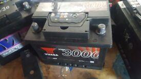 Yuass ybx 3000 series heavy duty diesel battery