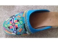 Moroccan leather sandals