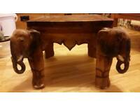 Elephant table stool