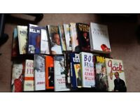 20 Autobiography Books. Julie Walters, Norman Wisdom, TOMMY COOPER, Kenneth WILLIAMS Eric Sykes etc