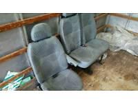 Ford transit 58 reg front seats