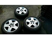 """Ford Focus 2007 16"""" tyres"""