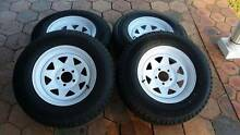 4 x BRAND NEW GOODYEAR TYRES WITH RIMS Kurrajong Hawkesbury Area Preview