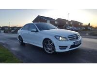 MERCEDES BENZ C220 CDI AMG SPORT PLUS AUTO 2 owners only covered 92k miles FINANCE AVAILABLE £12995