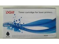 Dgm black cartridge for laser jet printers. New