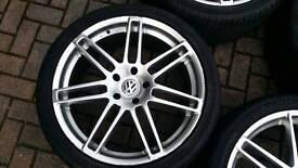 AUDI VW 22 INCH ALLOY WHEEL RS4 STYLE 5X130 Q7 TOUAREG MERCEDES PORSCHE CAYENNE