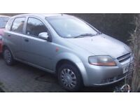 Daewoo Kalos SX 1.4 2003. One owner from new. Only 69,000 miles.