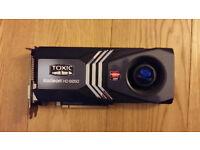 RADEON TOXIC HD6850 GAME VIDEOCARD COMPUTER