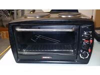Igenix Electric Mini Cooker / Table Top Oven with Hob - 45L