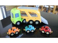 Car Transporter and 6 cars