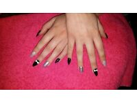 Shellac Manicures/Acrylics/Gel Colours/Eyelash & Eyebrow tint & Wax/Facials/Massage