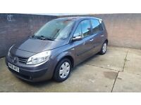 Renault SCENIC 1.6 PETROL MANUAL 5 seats low mileage Superb condition