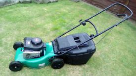 BRIGGS AND STRATTON 3.5 CLASSIC PETROL MOWER