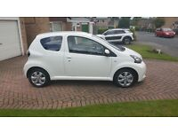Toyota Aygo I-fire, 2013 owned from new, 20k