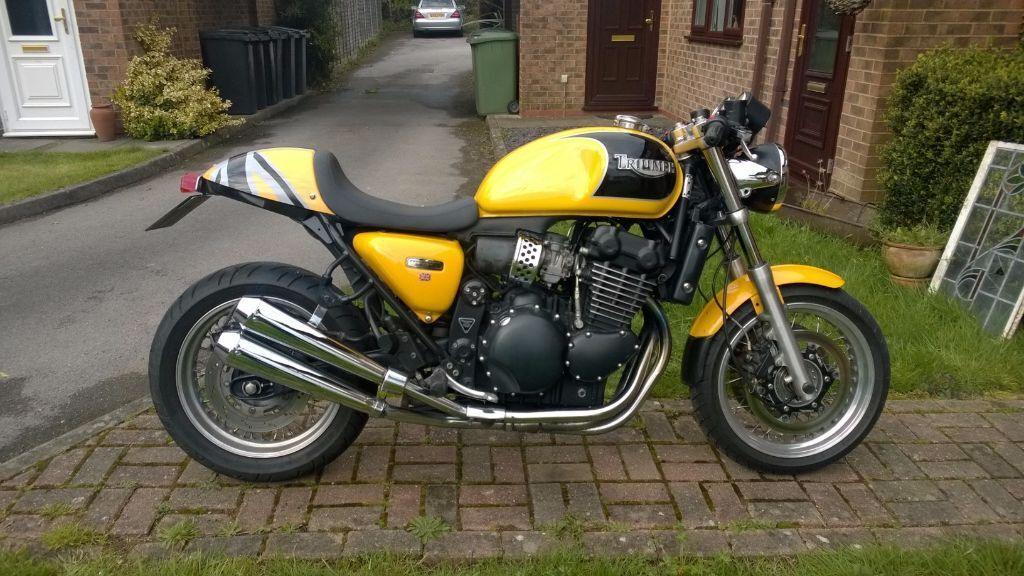 triumph thunderbird sport cafe racer | in denmead, hampshire | gumtree
