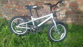 Dawes Blowfish kids bike (silver)