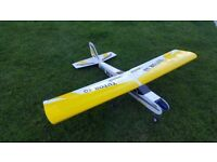 Tutor 40 airframe rc model airplane