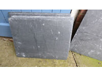 """ROOFING SLATES X !2, SIZE 19 3/4"""" x 14 3/4"""" 11 perfect one chipped"""