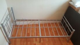 BRAND NEW SINGLE METAL BED FRAME