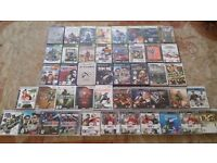 45 VIDEO GAMES BUNDLE, 17 PS3, 6 Xbox 360, 6 Wii, 7 PS2, 5 Xbox Original, 3 PC & 1 PSP Games for Sal