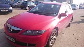 2007 MAZDA 6, 2LT DIESEL, BREAKING FOR PARTS ONLY, POSTAGE AVAILABLE NATIONWIDE