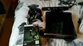 Xbox 360 kinect and games and more