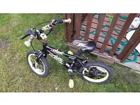 BOYS BIKE SUITABLE FOR STARTER BIKE