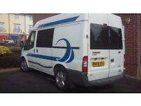 Ford transit. Now £6800. campervan home conversion diesel 10 months MOT Tax due November30th.
