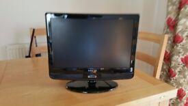 HD Ready 19 inch LCD TV DVD player