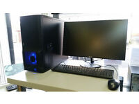 Gaming PC, AMD Phenom II x 6 cores 3.20 GHz, 8GB RAM, 1000GB HDD, GeForce GTX 680 Graphics Windows 7