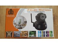 HD 720P P/T Wireless Wifi CCTV IP Camera Night Vision 1.0Megapixes IR Microphone White NEW