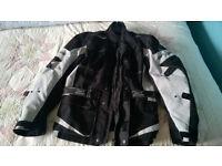 real good clean motorbike jacket