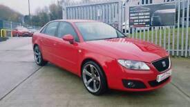 """2010 SEAT EXEO 2.0 TDI CR...NEW 19"""" ALLOYS...FINANCE THIS CAR FROM £30 PER WEEK...MINT CONDITION..."""