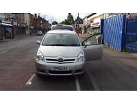 Toyota verso 7 seater 2007 reg excellent condition