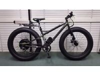 "E Power E Bike Electric Fat Bike 48v 750 W Motor 26x4"" Tyres"