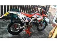2003 Honda CR 125 road legal