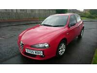 ALFA ROMEO 147 JTD 1.9 GENUINE 83K MILES ALMOST A YEAR MOT