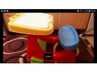 Kids desk + a free elefun