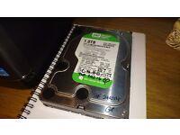 """Western Digital WD10EAVS-00D7B1 1.0TB SATA 3.5"""" Desktop Hard Drive"""