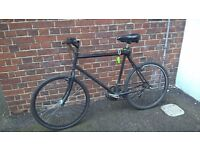 Total Black Road Bike with all the accessories for FREE