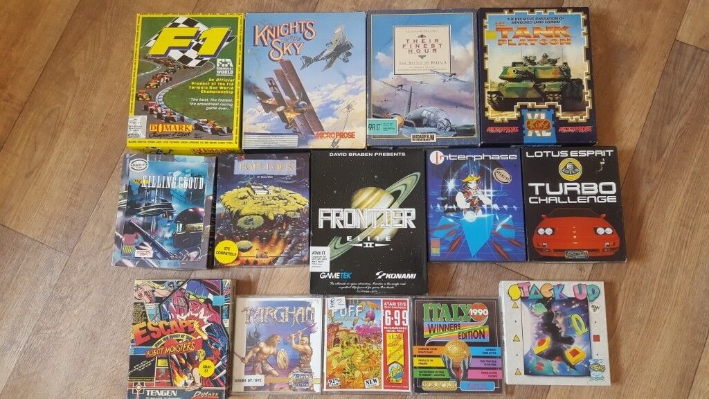 ATARI ST games bundle / job lot  16 great games  tested! Good condition! |  in Beccles, Suffolk | Gumtree