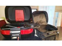 Givi Maxia E50 top box with inner bag & monokey plate