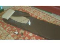 Portable massage matwith heat