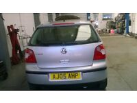 VW Polo 2005 for sale - low mileage and MOT to June 2019