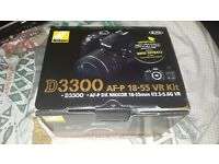 DSLR Nikon camera (brand new, never used)